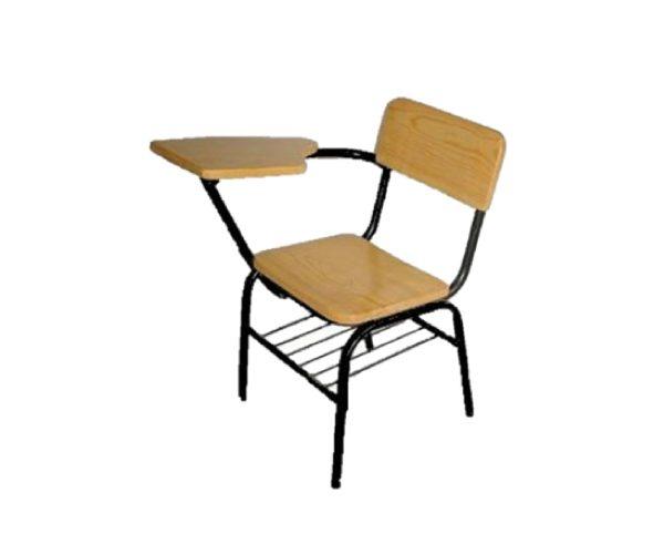 Silla de paleta primaria en madera feryand for Sillas para escritorio de madera